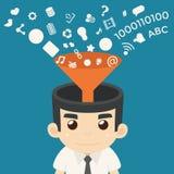 Businessman Communication Stock Photo