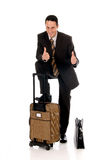 Businessman, commuter Royalty Free Stock Photography