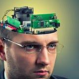 Businessman - computer Stock Photos