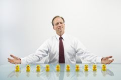 Businessman concept Royalty Free Stock Images