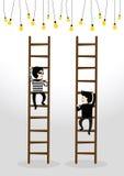 Businessman concept stock illustration