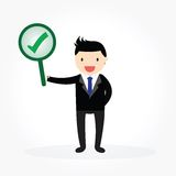 Businessman Concept royalty free illustration