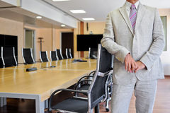 Businessman in conference room Royalty Free Stock Images