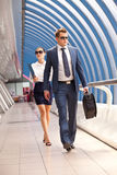 Businessman and consultant Stock Image