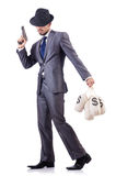 Businessman criminal Stock Photography