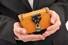 Businessman crisis Royalty Free Stock Photography