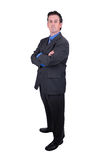 Businessman with crossed arms Stock Images