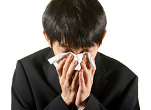 Businessman cry Stock Photo