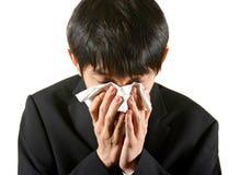 Businessman cry Stock Photo