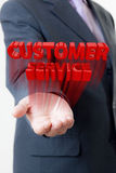 Businessman customer service Royalty Free Stock Photos