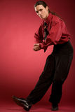 Businessman dance Royalty Free Stock Photography