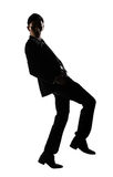 Businessman dancing Stock Photography