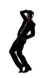 Businessman dancing Royalty Free Stock Photography
