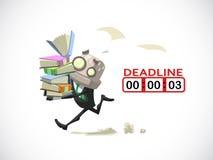 Businessman deadline Stock Photos