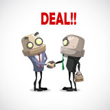 Businessman deal Royalty Free Stock Image