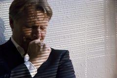 businessman depressed Στοκ Εικόνα