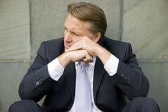 businessman depressed Στοκ Εικόνες