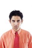 Businessman depressed isolated Stock Image