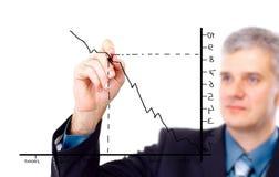 Businessman designing a plan Stock Photo