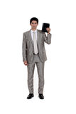 Businessman with diary Stock Photography
