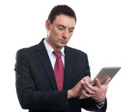 Businessman with digital tablet computer Royalty Free Stock Photography