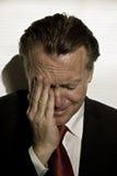 businessman distraught Στοκ εικόνες με δικαίωμα ελεύθερης χρήσης