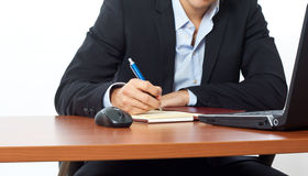 Businessman documents Stock Photography