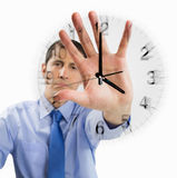 Businessman doesnt have time Stock Photography