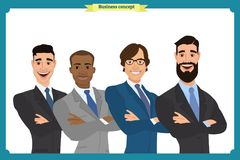 Businessman doing different gestures. Character vector design. Businessman doing different gestures. Character vector design Stock Photo