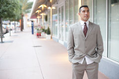 Businessman at Downtown Miami Royalty Free Stock Photo