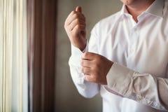 Businessman dress shirt Stock Photos