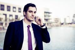 Businessman In Dubai Stock Photo