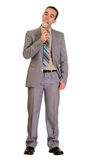 Businessman Eating Candy Stock Images