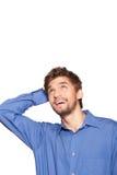 Businessman emotion Royalty Free Stock Photo