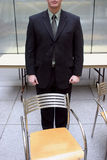 Businessman empty chair Royalty Free Stock Photos