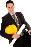 Businessman engineer Stock Photos