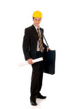 Businessman engineer royalty free stock photo