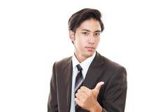 Businessman enjoying success Royalty Free Stock Image