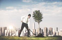 Businessman Entrepreneur Profit Build Concept Royalty Free Stock Images