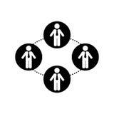 Businessman executive pictogram. Icon  illustration graphic design Royalty Free Stock Images