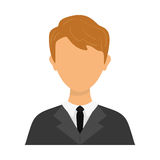 Businessman executive Profile Royalty Free Stock Photography