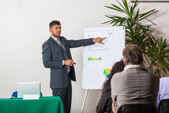 Businessman Explaining Plans Royalty Free Stock Images