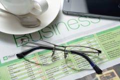 Businessman eyeglasses Royalty Free Stock Image