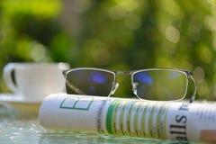 Businessman eyeglasses Royalty Free Stock Photography