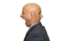Businessman faces Royalty Free Stock Photos