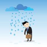 Businessman Fail Concept Stock Image