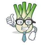 Businessman fennel character cartoon style. Vector illustration Stock Photos