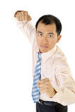 Businessman fighting Royalty Free Stock Photography