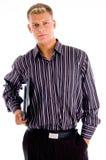 businessman files official portrait young στοκ φωτογραφία με δικαίωμα ελεύθερης χρήσης
