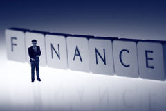 Businessman Finance B Stock Photo